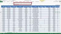 Excel - Explication du Tableau de bord Logistique